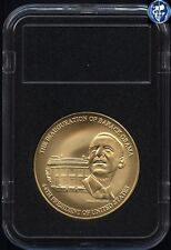 Barack Obama Commemorative 44th President Inauguration 24k Gold Plated Signature