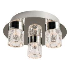 Artículos de iluminación de techo de interior para el baño de vidrio