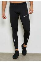 Nike Men's Power Tech Running Tights Black Size XXL 2XL AT4022-011 RRP £50 NEW