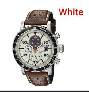 Citizen Brycen Men's Chronograph Eco Quartz Watch CA0641-24E NEW