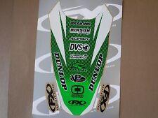 FX rear fender graphics Kawasaki KX250F 2006 2007 2008 KXF250 KX450F KXF450