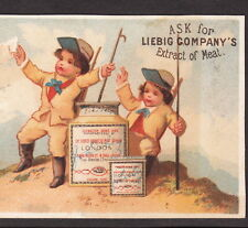 circa 1873 LIEBIG S 0042 Mountain Climbing English Language American Trade Card