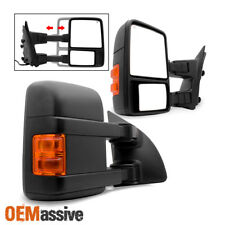 1999-2007 Ford F250 F350 F450 SuperDuty Power Heated LED Signal Towing Mirrors