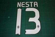 AC Milan 10/11 #13 NESTA Homekit / 3rd Awaykit Nameset Printing