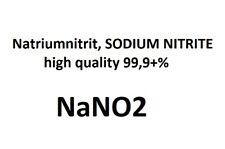 Natriumnitrit SODIUM NITRITE NaNO2      high quality 99,9+% 250 grams