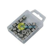 25 Pieza Tipo HELICOIL inserciones de hilo M8 X 1.25mm funciona con Kit de Reparación de Rosca