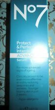 BOOTS No7 PROTECT & PERFECT INTENSE ADVANCED SERUM 1fl.oz./30ml NEW + FRESH/Seal