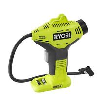 Ryobi 18+ Volt One Portable Air Compressor Cordless Tire Inflator Li Lithium Ion