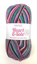 SIRDAR Heart & Sole Wool Rich 4 Ply Sock Yarn Color 165