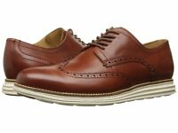 Cole Haan Men's Original Grand Shortwing Oxfords Woodbury/Ivory C26471 US Sizes