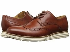 Cole Haan Men's Original Grand Shortwing Lace Up Shoes - Woodbury/Ivory C26471