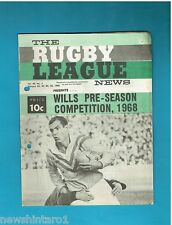#QQ. THE RUGBY LEAGUE NEWS, 22-25th February 1968