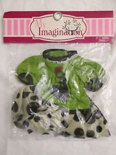 """18"""" Flying High My Imagination Doll Outfit Wizard of Oz Wicked Witch of the West"""