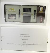 OPEL Collection === Modellauto 1:43 === Diorama Eagle Moss Werkstatt Tankstelle