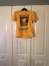 Vintage Thrasher Magazine First Cover Tahoe City Massacre Skateboard Shirt