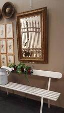 Specchiera pastiglia specchio  fiori metà sec. XX  cm. 127x84 Mirror