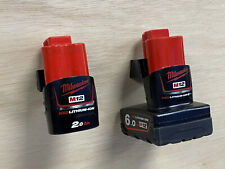 5 PACK of STEALTH MOUNTS for MILWAUKEE M12 12v sub compact ratchet hackzall batt