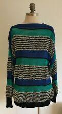 Vintage ESCADA Margaretha Ley Wool/Silk/Cotton Sweater W. Germany Size 38