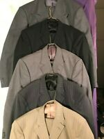 (5) Personal Choice - Men's 2 piece suits - Poly/Wool blend