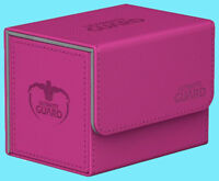 ULTIMATE GUARD XENOSKIN PINK SIDEWINDER 100+ DECK CASE Side Loading Card Box MTG