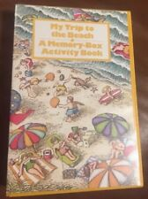 My Trip To The Beach A Memory Box Activity Book Scrapbook Projects Vintage