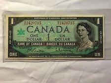 3 1967 One dollar Consecutive Bills