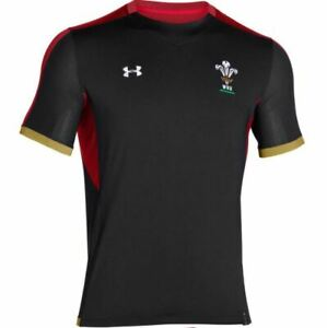 UNDER ARMOUR WALES RUGBY  SUPPORTERS TEE SHIRT M-XXL WRU Genuine Product NEW