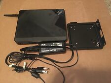Asus Eee Box Desktop HTPC Server 1.6 Atom 1G RAM w/VESA Mount Win 7 Pro