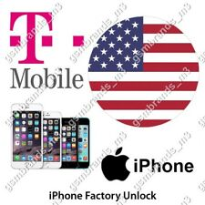 T-MOBILE USA iPhone 4 4S 5 5S 5SE 6 6S 6+ 6 PLUS 6S+ 6S PLUS UNLOCK CODE