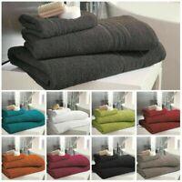 Luxury 100% Hampton Cotton Super Soft 450 GSM Face Hand Bath Sheet & Jumbo Towel
