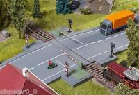 Porte de fer avec Partie entrainement,Faller Modèle De Kit De Montage H0 1:87,