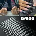 XXL Extra Long Stiletto False Nail Tips Full Cover Nails Fake Tip Salon Manicure