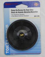 Master Plumber Snap On Screw On Seat Disc 645-335 Toilet Repair New