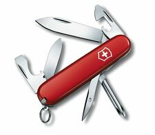VICTORINOX TINKER SMALL RED - SWISS ARMY POCKET KNIFE - LENGTH 84 MM - 12 TOOLS