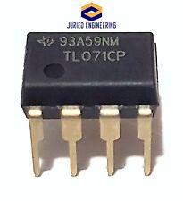10pcs Tl071cp Tl071 Low Noise Jfet Op Amp Dip 8 New Ic