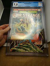 Marvel Premiere #14 CGC 7.5 (Mar 1974, Marvel) Doctor Strange, Frank Brunner cvr