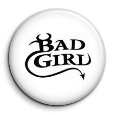 Bad Girl JDM Tuning Course Auto Moto Badge 38mm Button Pin