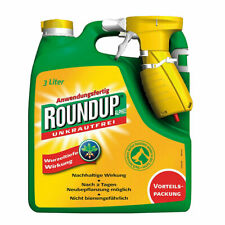 Unkrautfrei Round Up Alphee Roundup Anwendungsfertig 3000 ml Unkrautvernichter