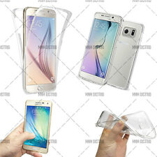 Mnm distrib Coque Silicone Gel TPU integral Transparent pour Samsung Galaxy 3