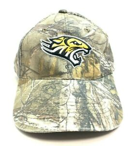 NCAA Towson University Tigers Camo Embroidered Adjustable Strap Back Ball Cap