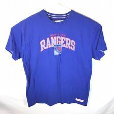 XXL Mitchell & Ness New York Rangers s/s shirt 2Xl blue short sleeve hockey