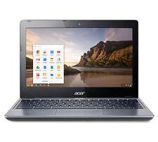 "Acer Chromebook C720 11.6"" Netbook, Intel Celeron, 4GB RAM, 16GB SSD ENGRAVED"