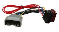 Adaptateur faisceau câble fiche ISO pour autoradio pour Chrysler Grand Voyager