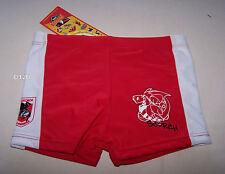 St George Illawarra Dragons NRL Boys Red Printed Swim Trunk Bathers Size 5 New