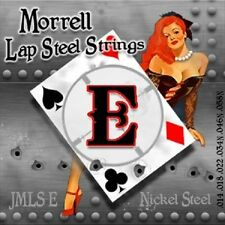 Morrell JMLS-E Premium 6-String Lap Steel Guitar Strings for E-Tuning (3 Pack)
