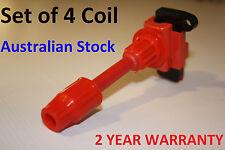 Coils S15 Silvia 200sx Ignition Coil Packs  SR20DET Black Top FULL SET OF 4