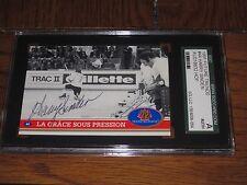 HARRY SINDEN AUTOGRAPHED 1991 FUTURE TRENDS CARD-SGC-1972 CANADA CUP