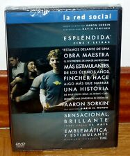 THE RED SOCIAL - THE SOCIAL NETWORK - DVD - NEW - SEALED - BIOGRAPHICAL-DRAMA