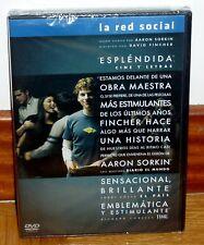 LA RED SOCIAL - THE SOCIAL NETWORK - DVD - NUEVO - PRECINTADO - BIOGRAFICO-DRAMA