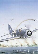 Postcard Aircraft Curtiss SB2C-1C Helldiver modern card / large